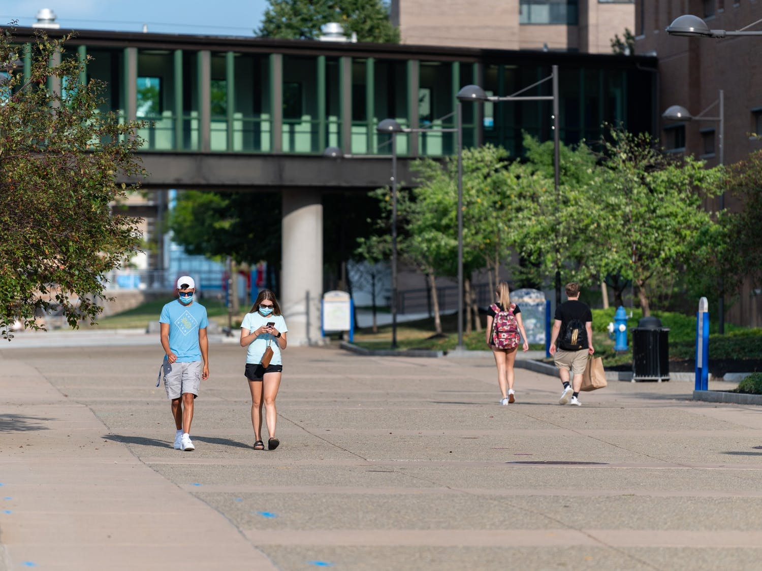 """Students say they were """"disappointed"""" by UB's response to recent anti-Asian hate crimes, saying the response was not distributed appropriately and came """"too late."""""""