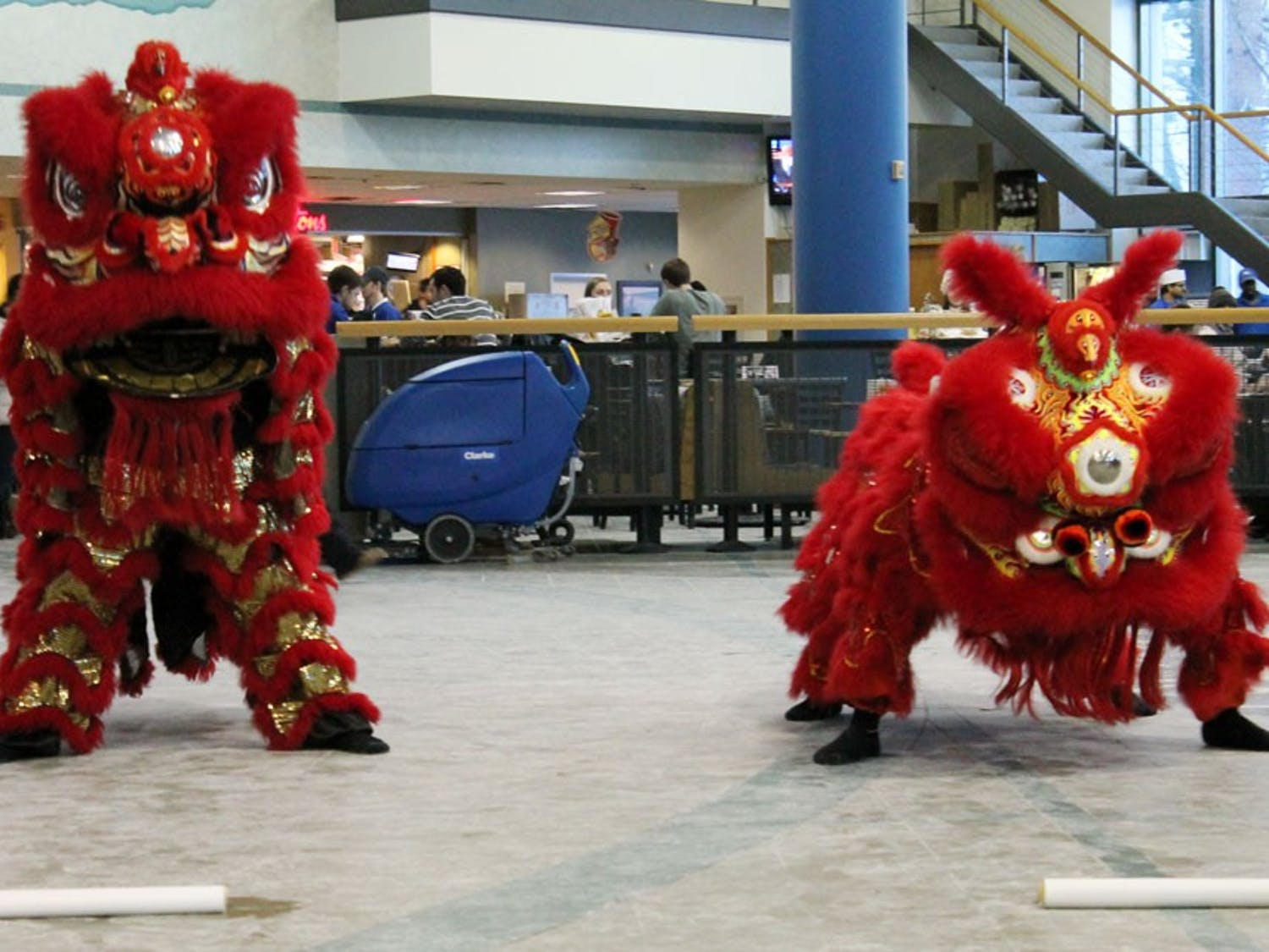 Chinese New Year began on ThursdayFeb. 19. This year marks year 4713 onthe Chinese calendar. The Confucius Institute and the Chinese Club of Western New York hosted a celebration in the Center For The Arts on Saturday Feb. 21 that included music, dances and various performances.
