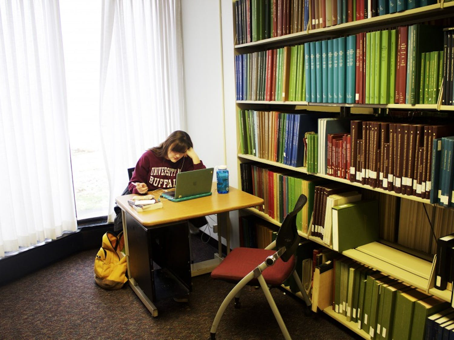 The Music Library is a 51-year-old collection of 224,000 scores, LPs and more located in Baird Hall.