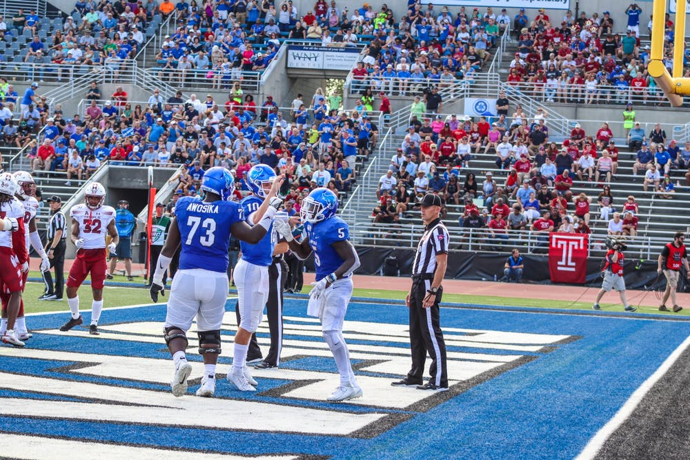 Students can expect to stand shoulder-to-shoulder with their peers at football games in the fall.