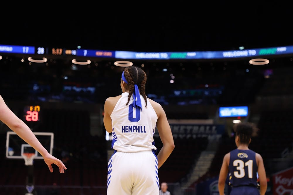 <p>Summer Hemphill had an interesting path to the sport. She didn't play competitive basketball until she was 12 but dabbled in nearly everything else, including tee-ball, softball, volleyball and track and field.&nbsp;</p>