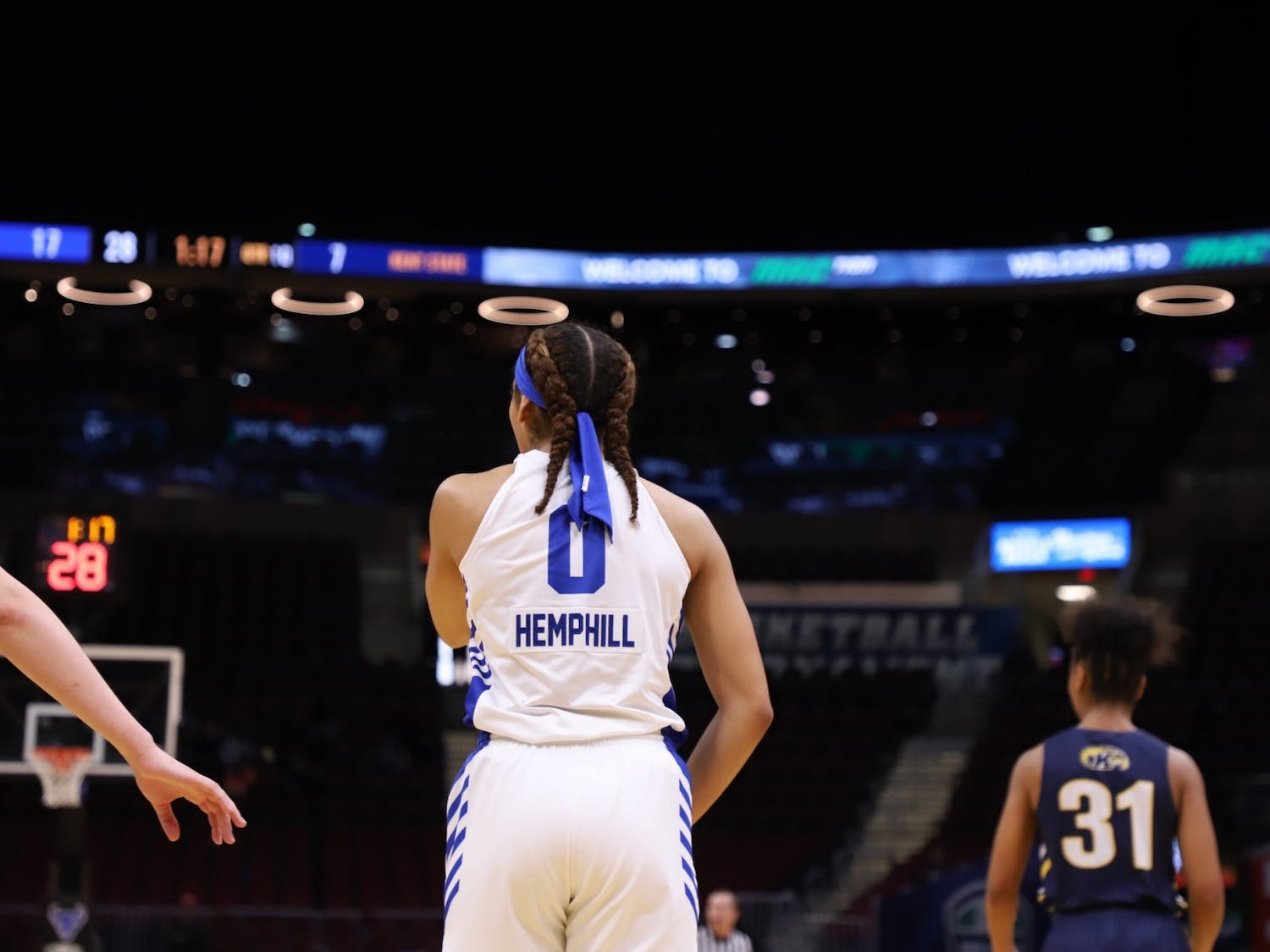 Summer Hemphill had an interesting path to the sport. She didn't play competitive basketball until she was 12 but dabbled in nearly everything else, including tee-ball, softball, volleyball and track and field.