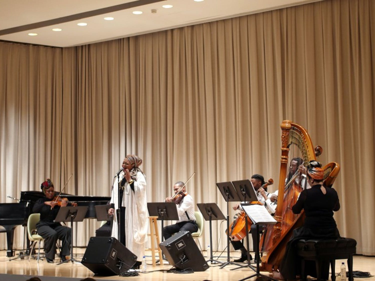 Nina Simone's music came to life at Albright-Knox on Thursday night thanks to Buffalo musicians Drea D'Nur and Roostock Republic's Dear Nina tribute.