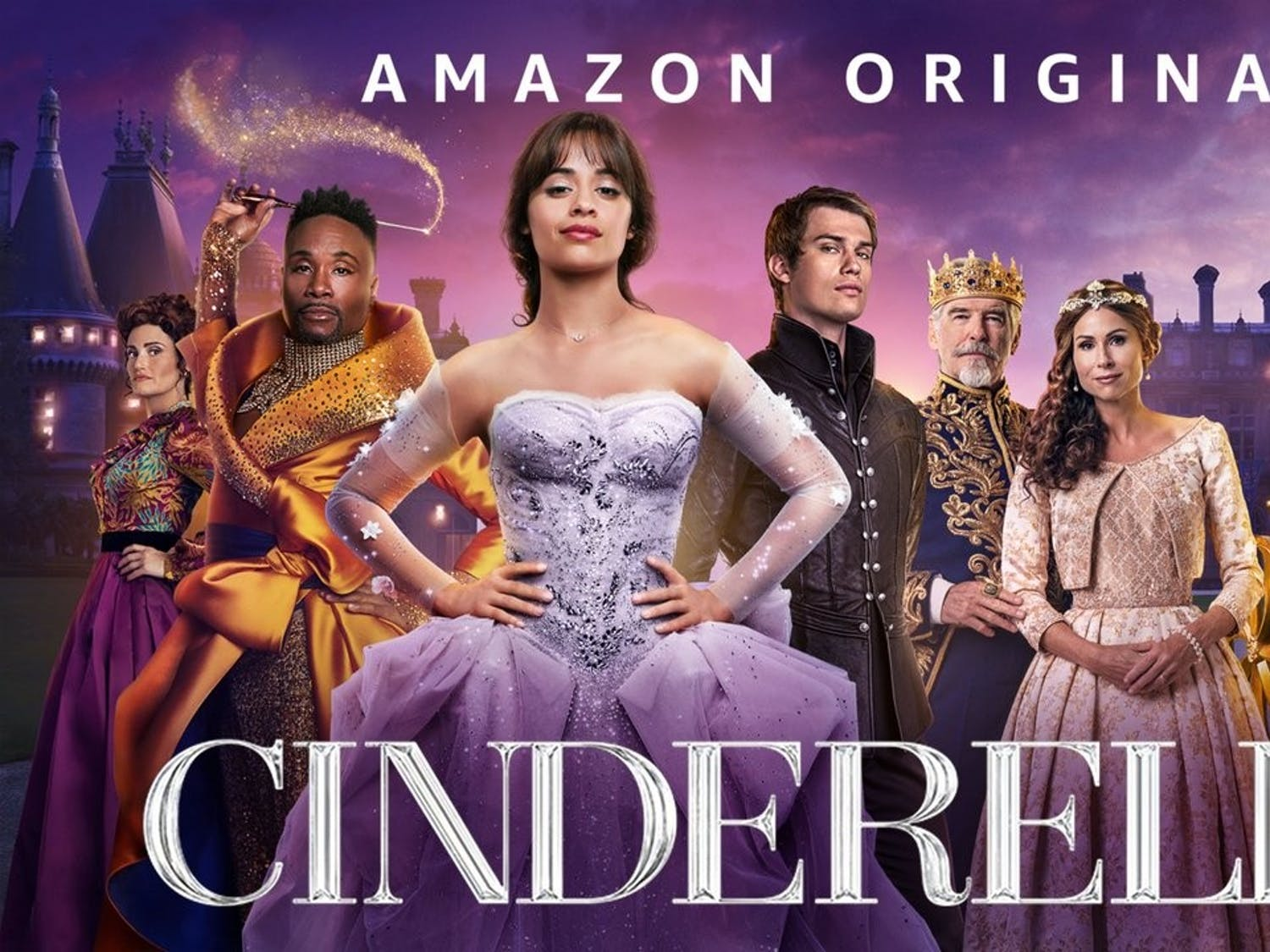 """Cinderella (2021) """"far more resembles the pumpkin before the carriage in this adaptation."""""""