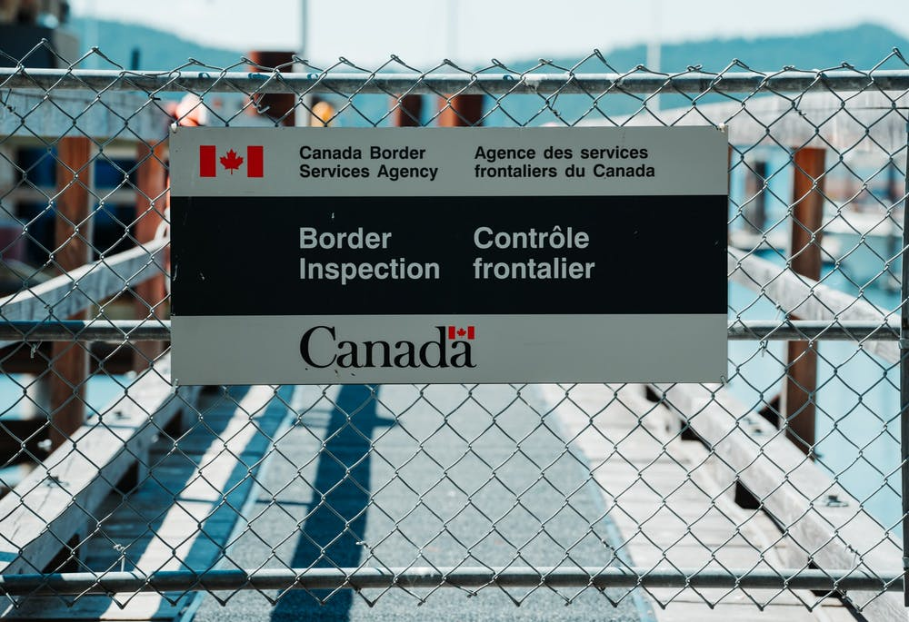 Visitors crossing the U.S.-Canada border are required to use the ArriveCAN app to document their travel information and COVID-19 testing and vaccine records.