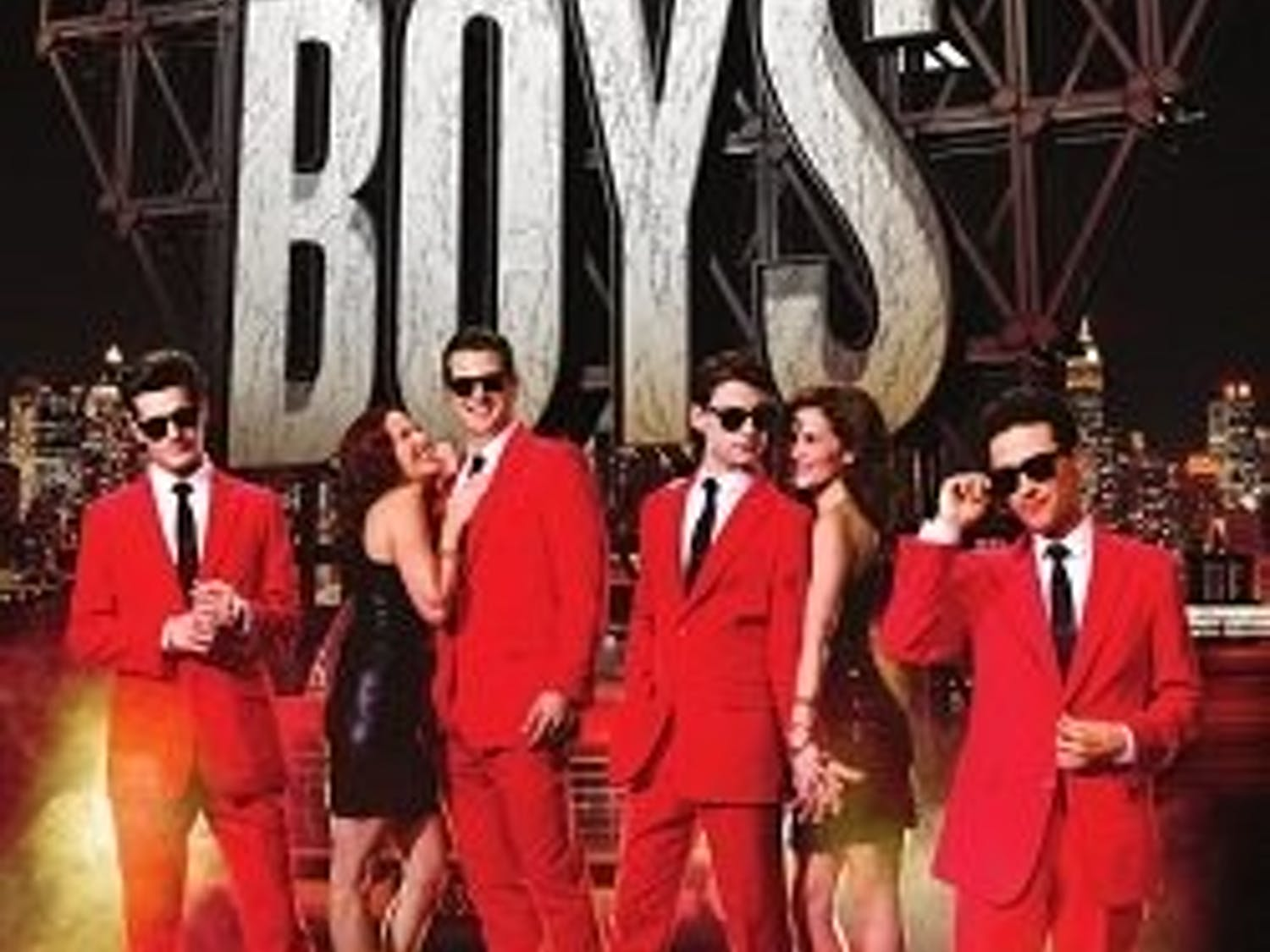 """Shea's Performing Arts Center hosted the national tour of """"Jersey Boys"""" from Nov. 15th to 17th."""