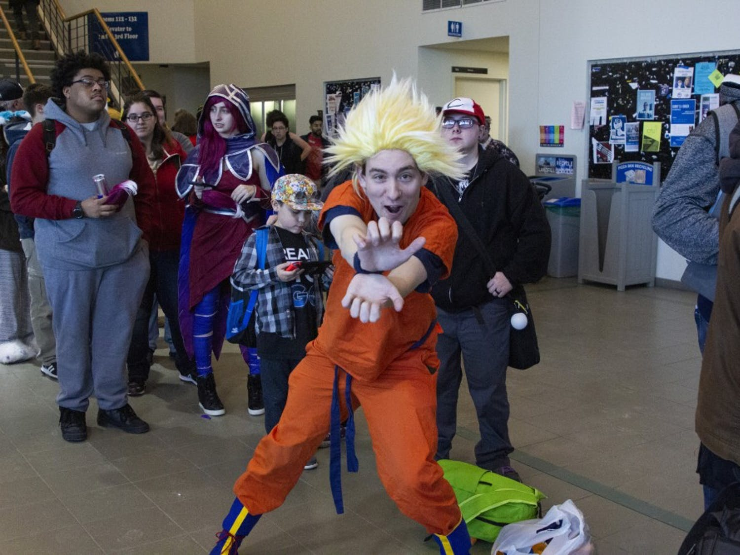 Students filled the Student Union for this year's UBCon beginning on Friday. The fandom community gathered for a weekend of games, artistic showings and the classic NerfWar.