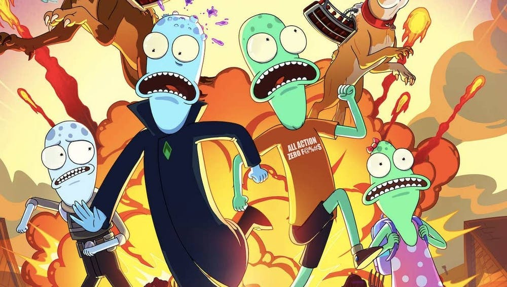 "Don't be fooled by the similar animation style or familiar voice actors; this show is not ""just another"" ""Rick and Morty"" clone."