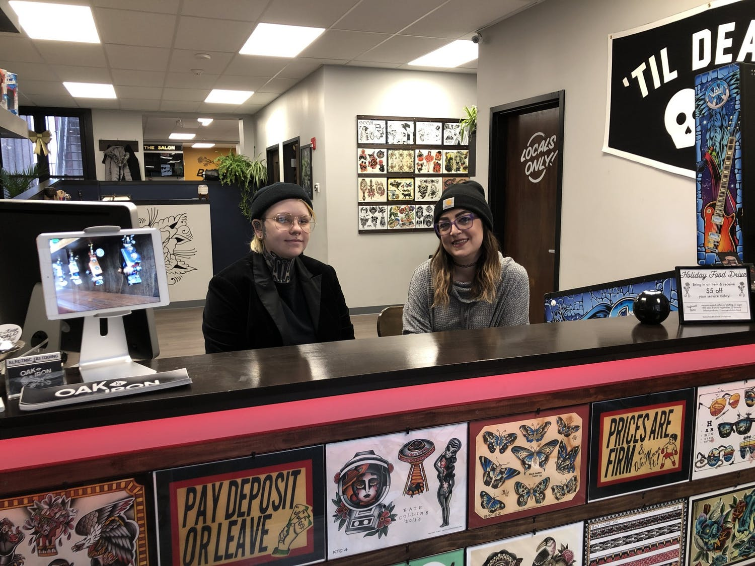 Owners Jessica and Ashley Fox pride themselves on creating a safe-space for patrons and employees by prioritizing the hiring of minorities.