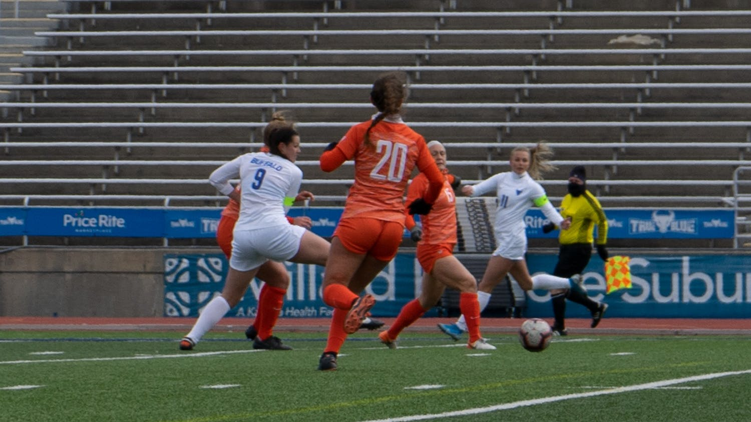 UB defeated Bowling Green, the defending MAC champions, 2-1 on March 14.