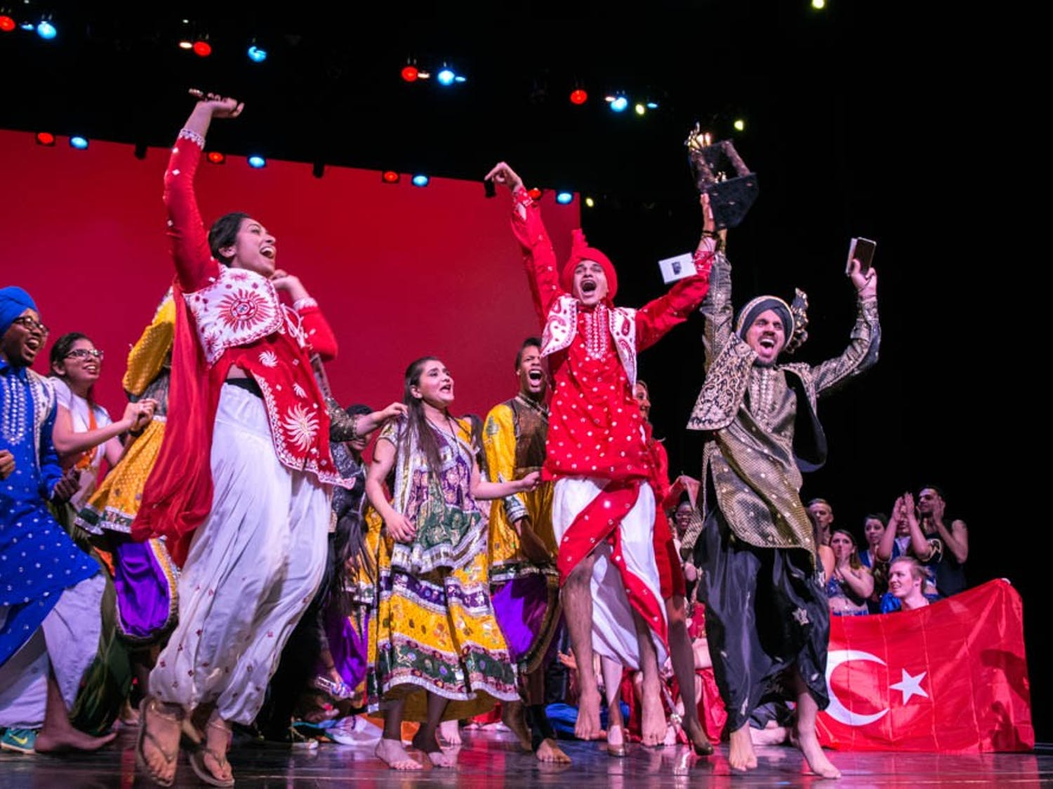 International Fiesta is UB's annual celebration of the different cultures on campus that are represented through dance and music. Indian Student Association won this year's competition.