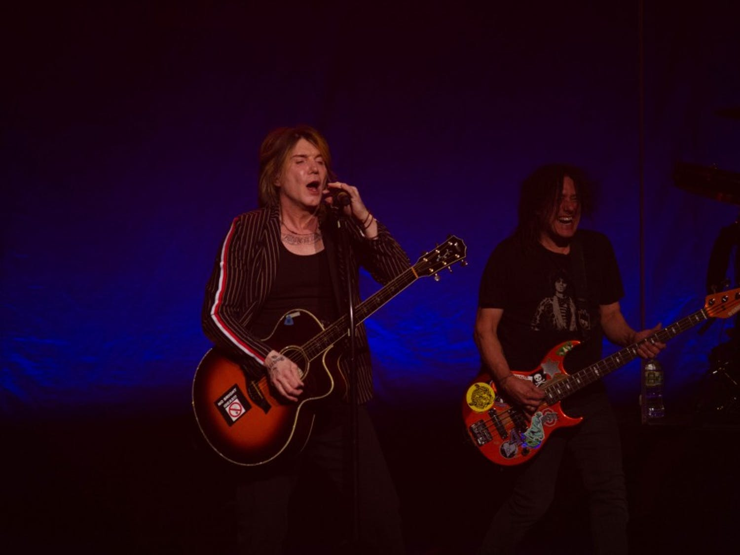"""The Goo Goo Dolls played their first of three sold-out shows Friday at Shea's Performing Arts Center. The band is celebrating the 20th anniversary of their hit album """"Dizzy Up the Girl."""""""
