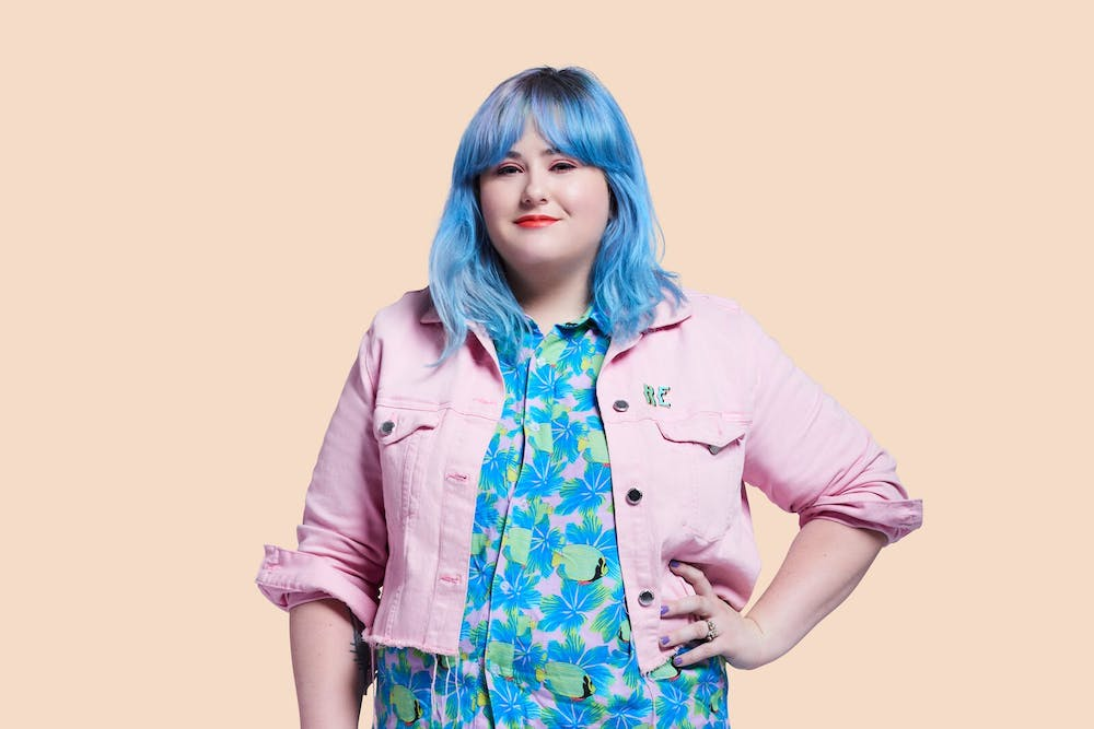 <p>Hayley Elsaesser is a forward-thinking fashion designer focused on creating a place where everyone, including her models and team, can express themselves and feel comfortable in their own skin.</p>
