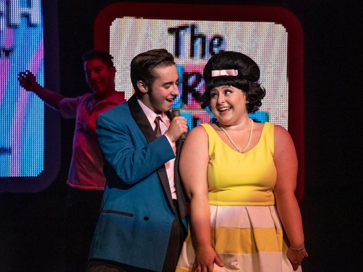 Stills from the production of Hairspray now showing at The Kavinoky Theatre.