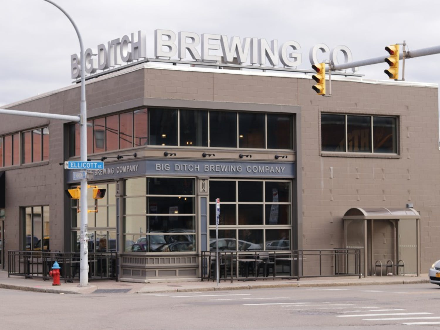 Big Ditch Brewery is in the heart of downtown Buffalo and only a couple blocks from UB's Downtown Campus.