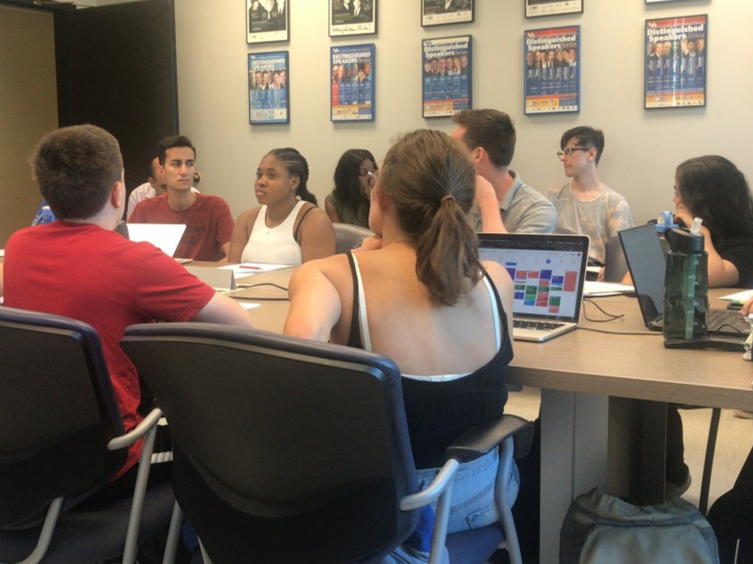 Josh Korman, Student Association's attorney, attended the Board of Directors meeting on Thursday to discuss the changes to SA with it becoming a not-for-profit.