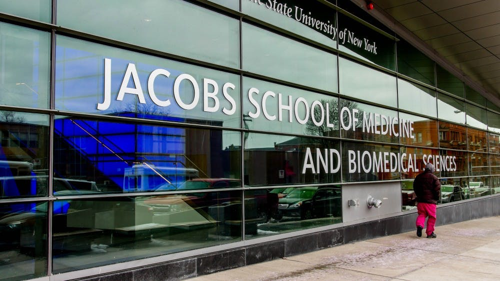 <p>UB's Olli bus researchers partner with the Buffalo Niagara Medical Campus to create a futuristic smart corridor. The project is part of the city's $13 million reconstruction of Main Street.</p>