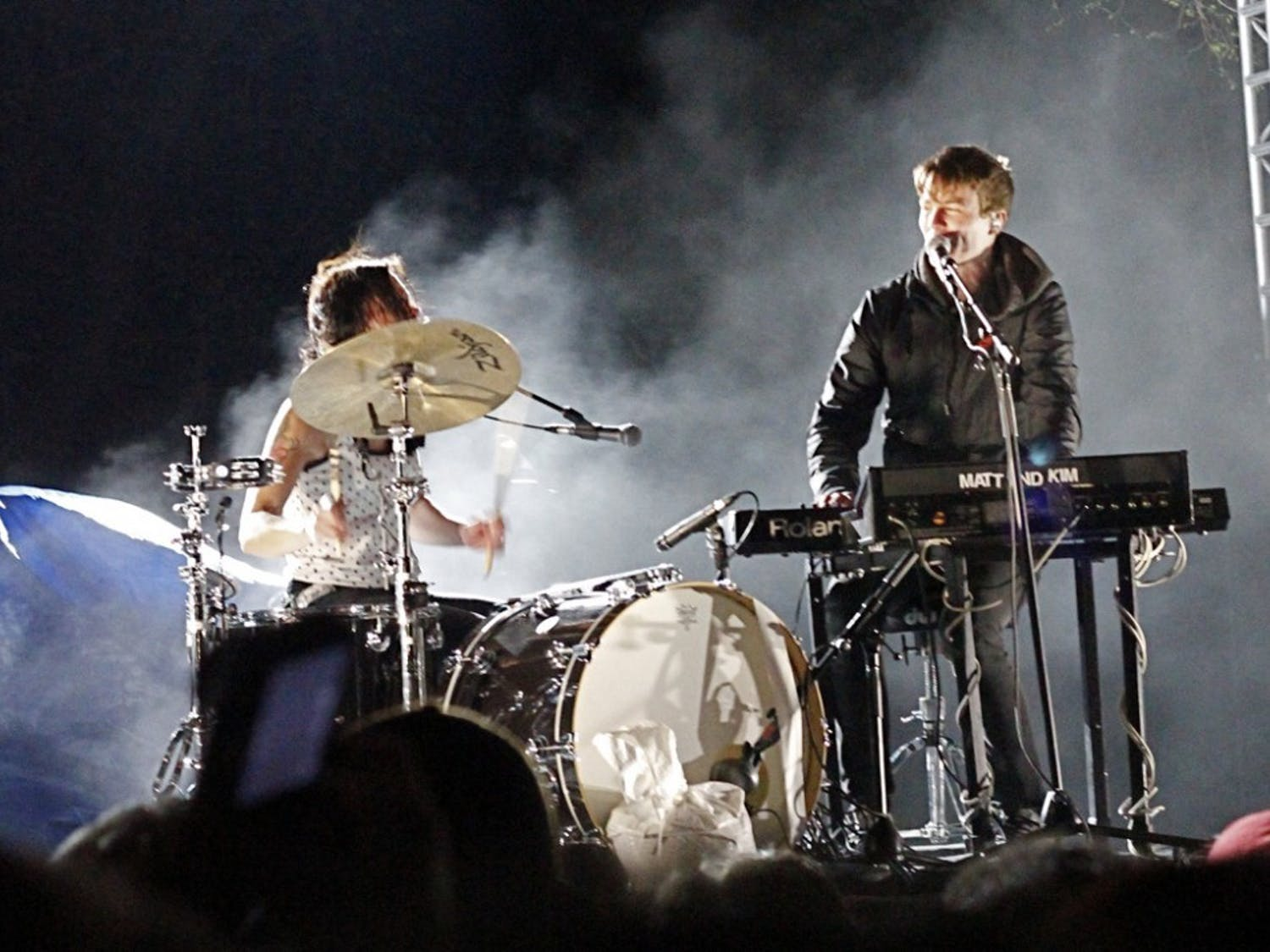 Rock duo Matt and Kim will perform at the Student Association's Fall Fest Concert Series. The series will take place at the Center for the Arts on Sept 21, Oct 6 and Nov 10. Each show will highlight a specific genre.