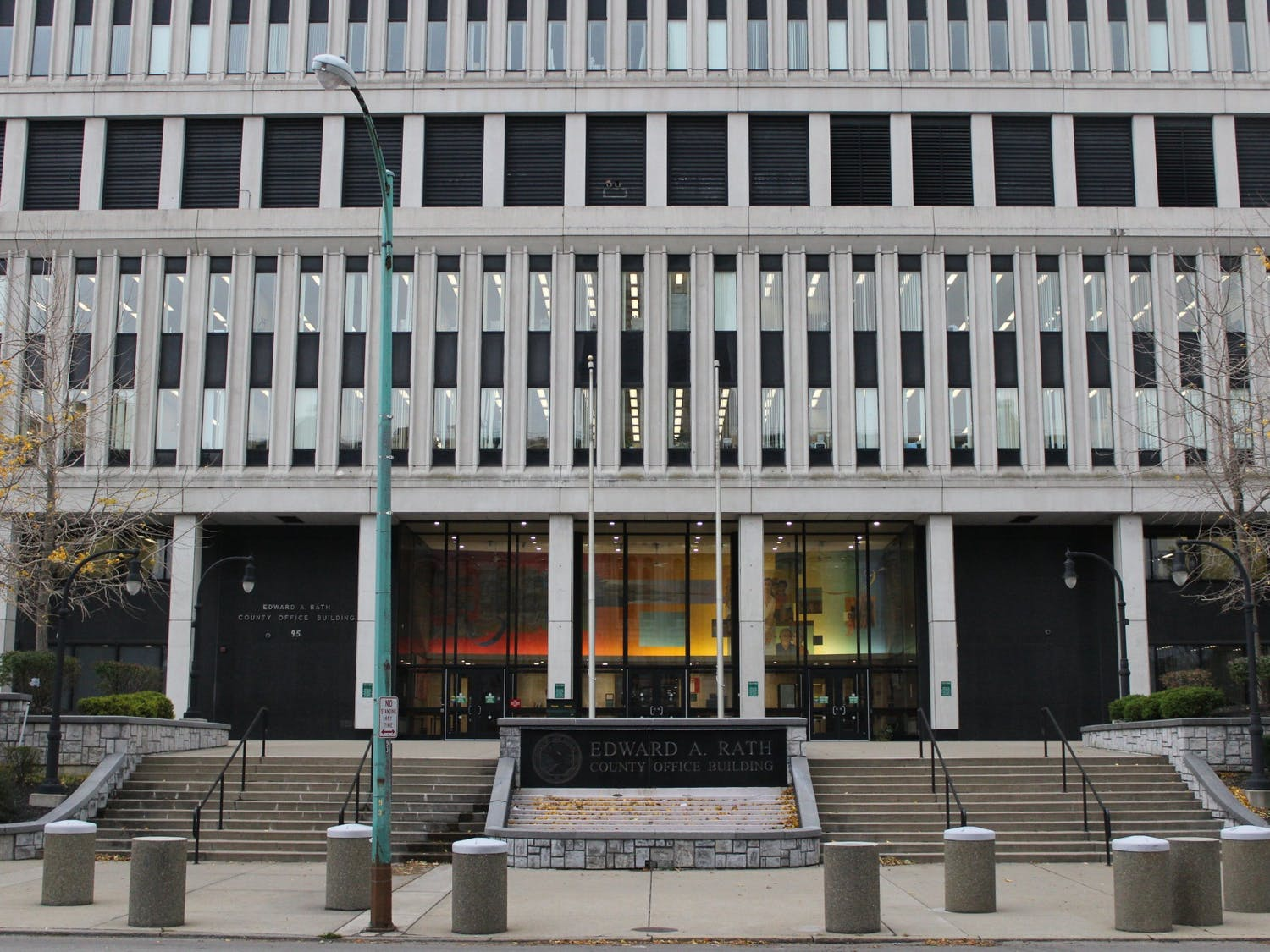 Erie county executive office on 95 Franklin St.