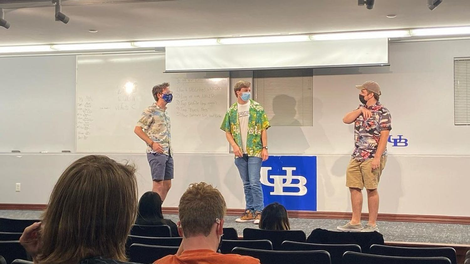 Students attended UB Improv's first meeting of the semester in SU 330 on Sept. 5.
