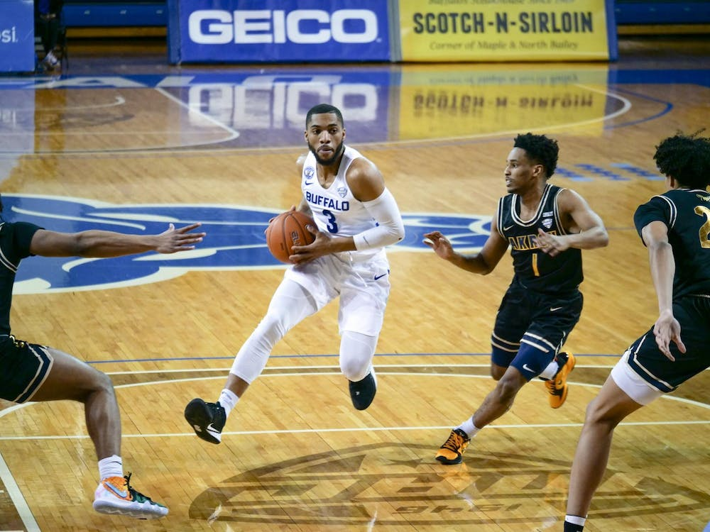 Senior guard Jayvon Graves tallied 13 points, 10 rebounds and 11 assists Tuesday, as he secured the third triple-double in program history.