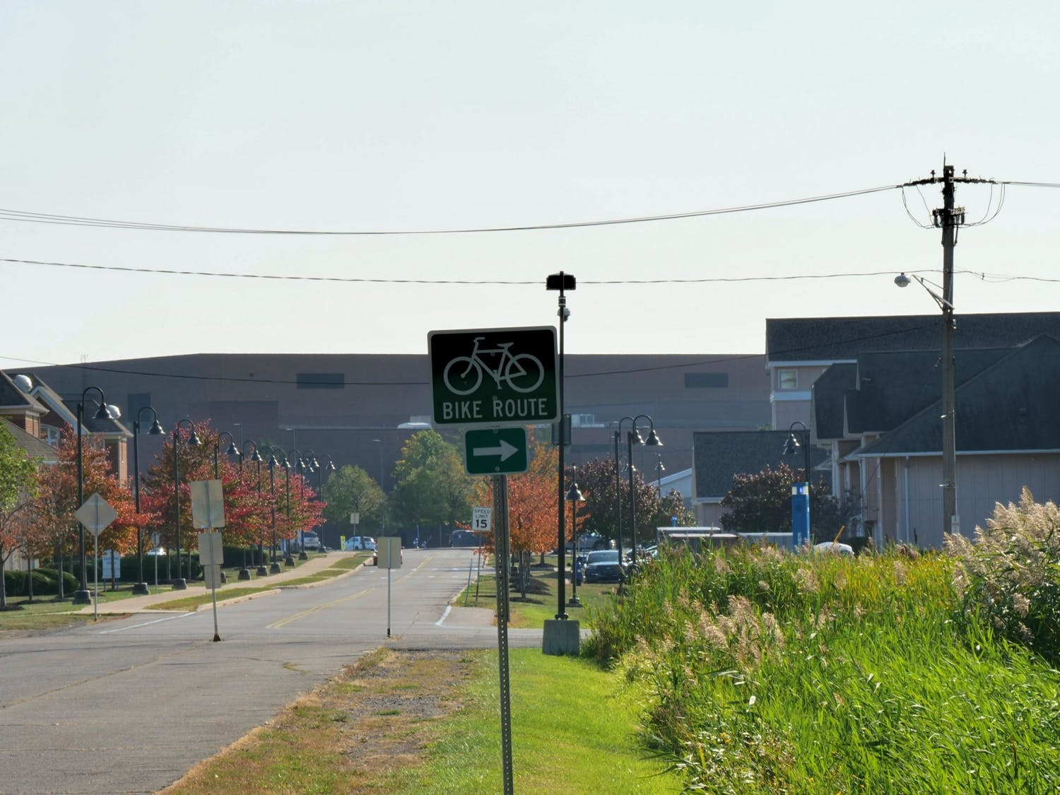 Buffalo is home to several beautiful bike trails.