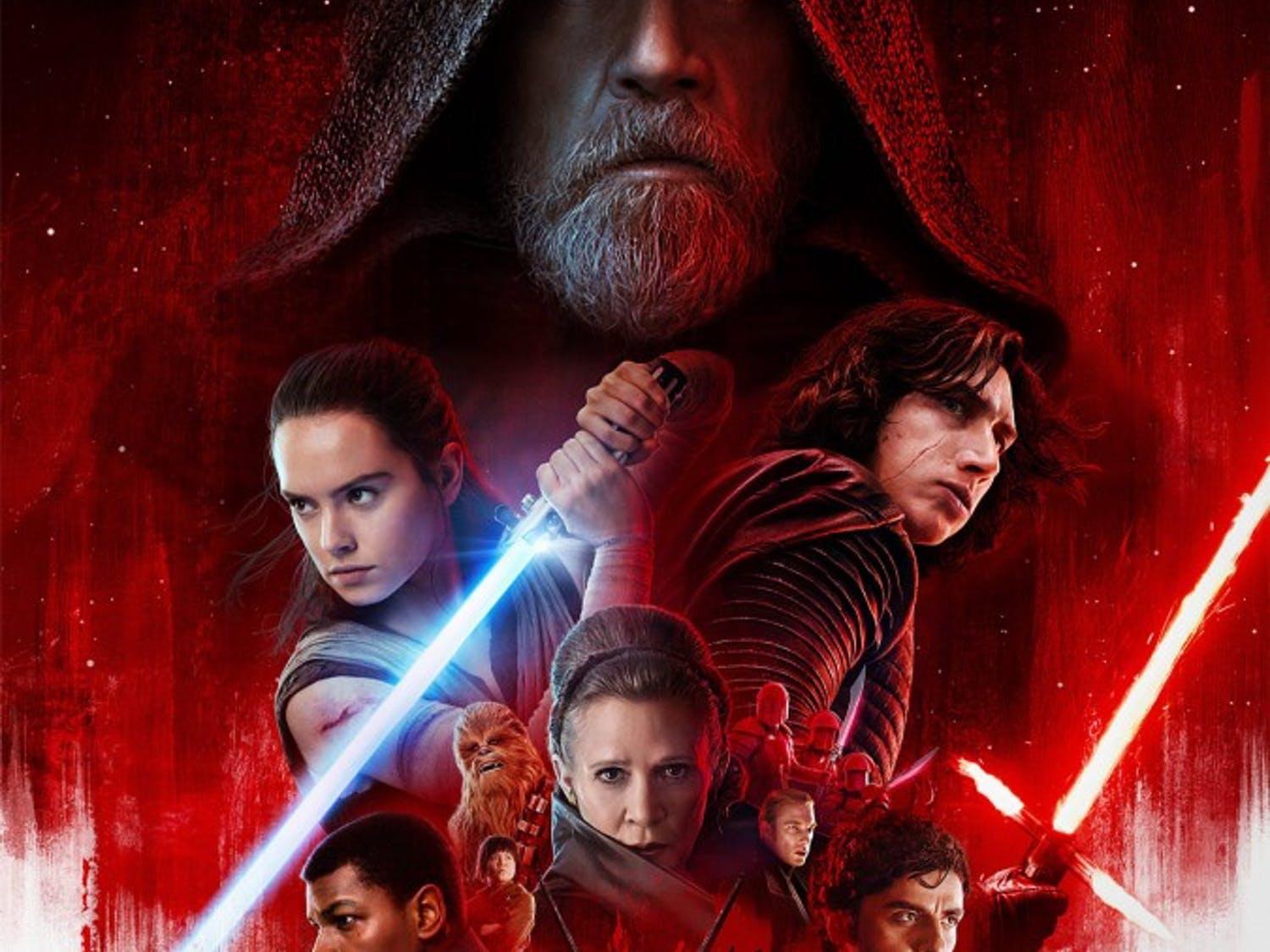 """""""Star Wars: The Last Jedi"""" will be the biggest film of the year, despite losing Carrie Fisher before the release. December also brings us a few gems along with Spielberg's latest dad-fare."""