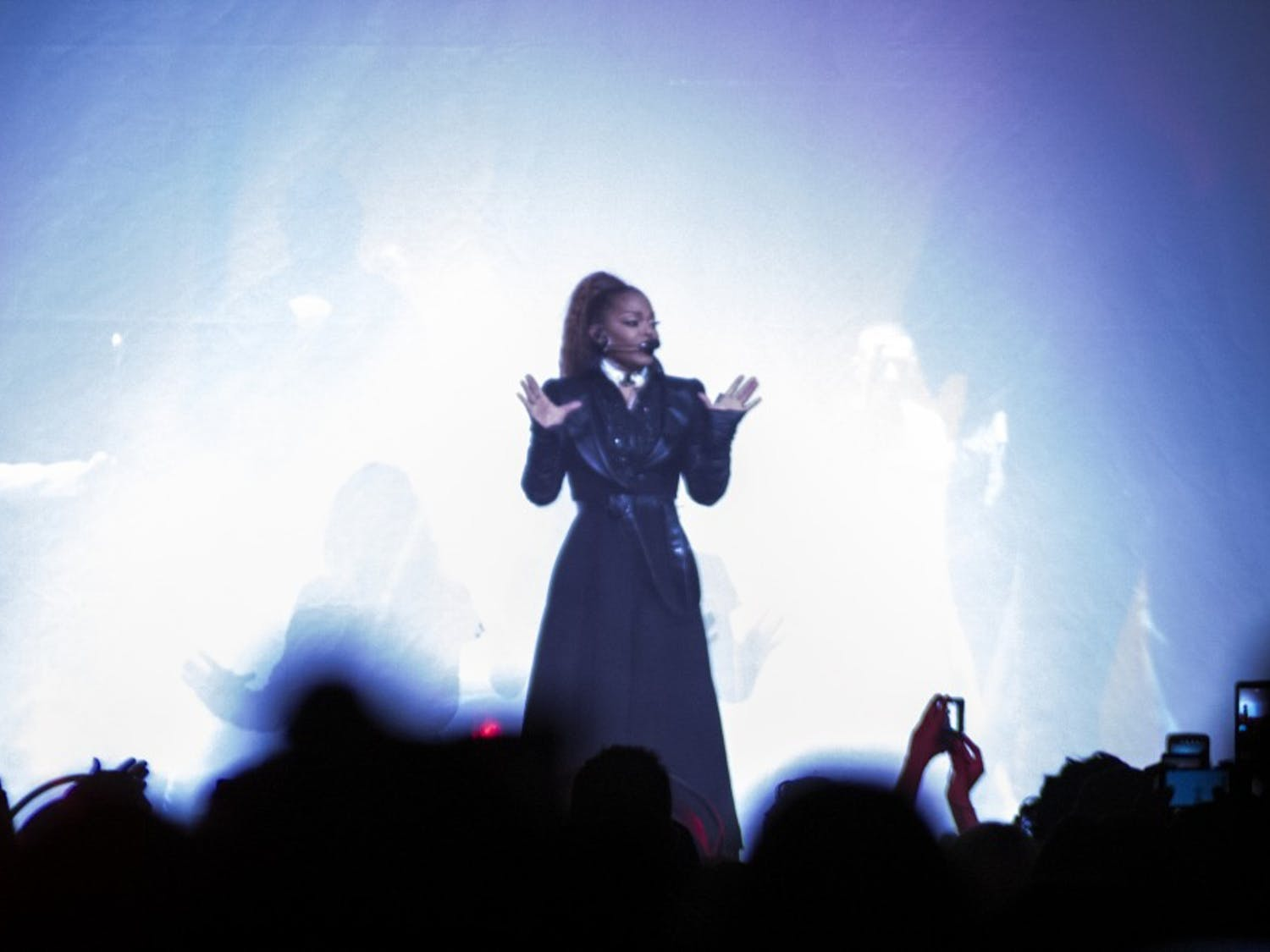Music icon Janet Jackson performed a medley of hits as part of her State of The World tour in Buffalo on Saturday. Throughout, the multi-talented singer dazzled through synchronized dance and flurries of jams which pleased thousands of fans in attendance.