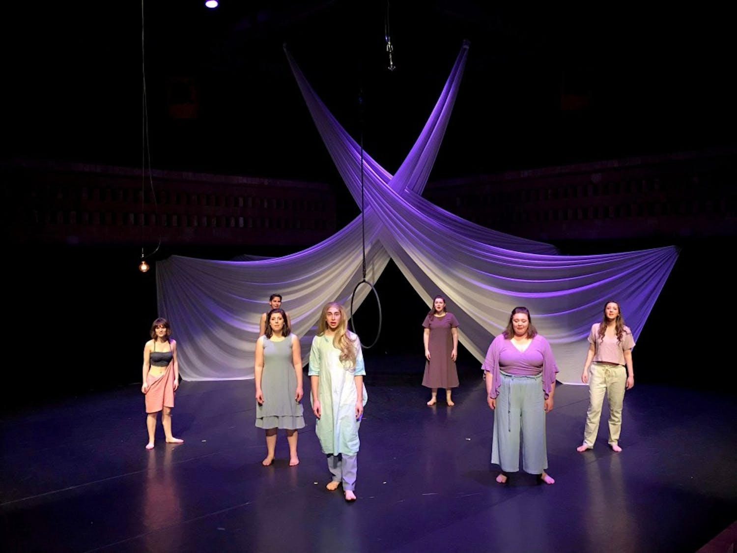 """The UB Department of Theatre and Dance's production of """"As I Am Now"""" put on an emotionally charged performance for the Katherine Cornell Theatre on Saturday night."""