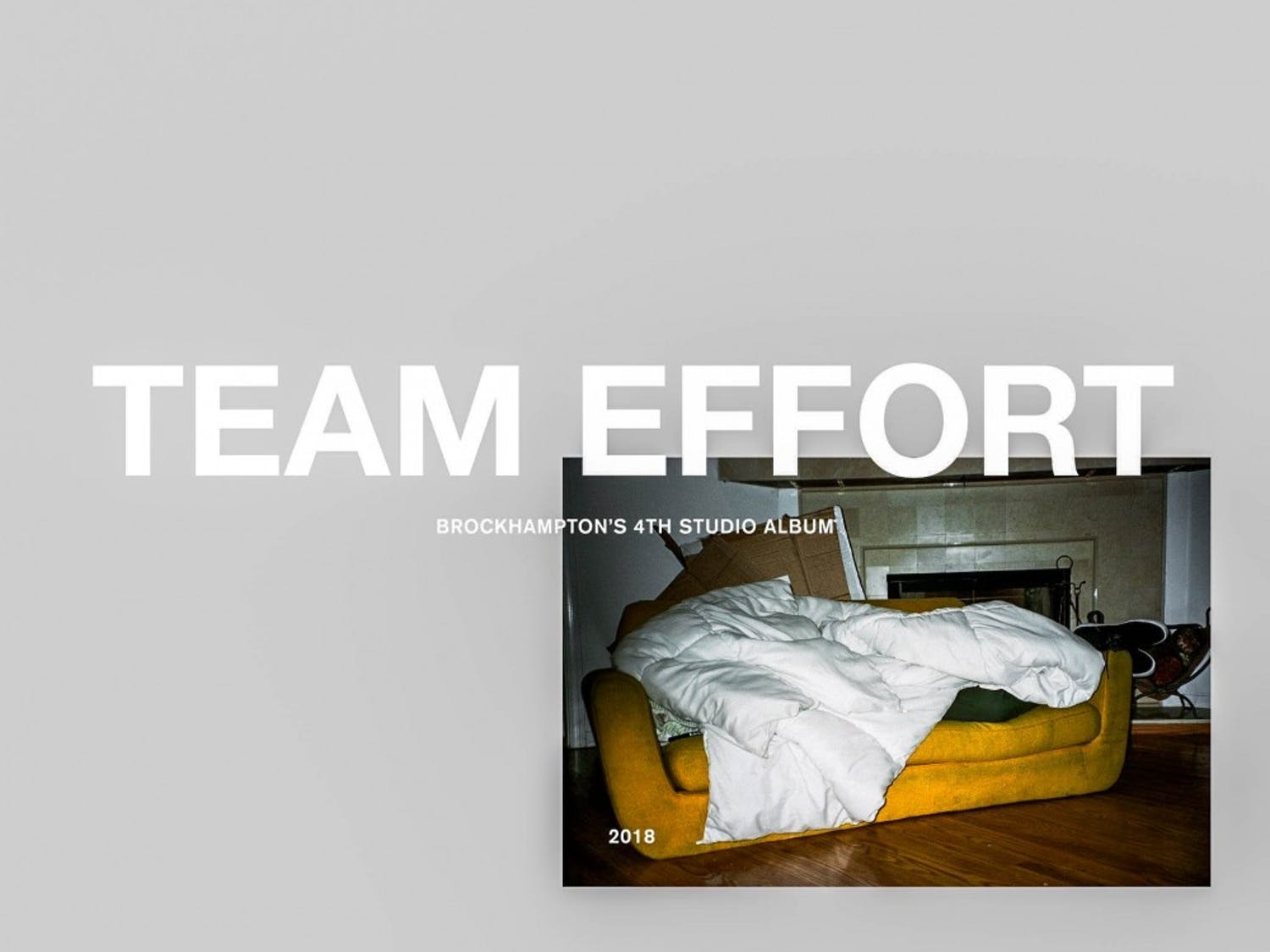 """Brockhampton, music's current big boyband, is expected to drop it's fourth studio album """"Team Effort"""" sometime this semester. This project will be the follow-up to their popular """"Saturation"""" trilogy, making it a must-listen this semester."""