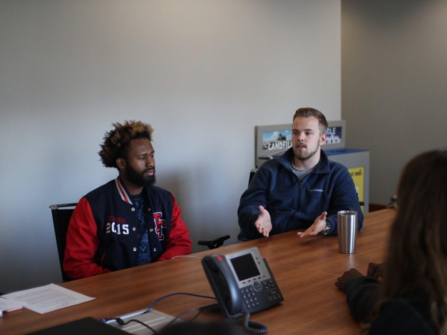 Tristan Reynolds, a senior mechanical engineering major and SU manager, discussed how the Student Union is not student-friendly. Club officials, SA government and others involved in the SU met on Wednesday to discuss UB's Student Union Master Plan.