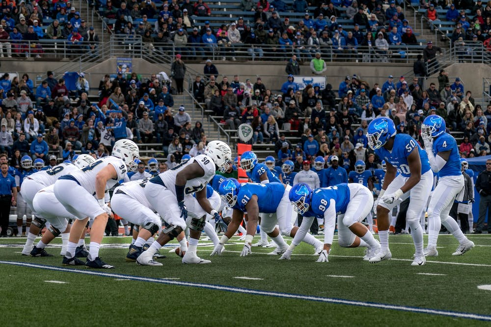 <p>The 4-0 Bulls will take on the 1-4 Zips in Buffalo on Saturday at 2:30 p.m.</p>