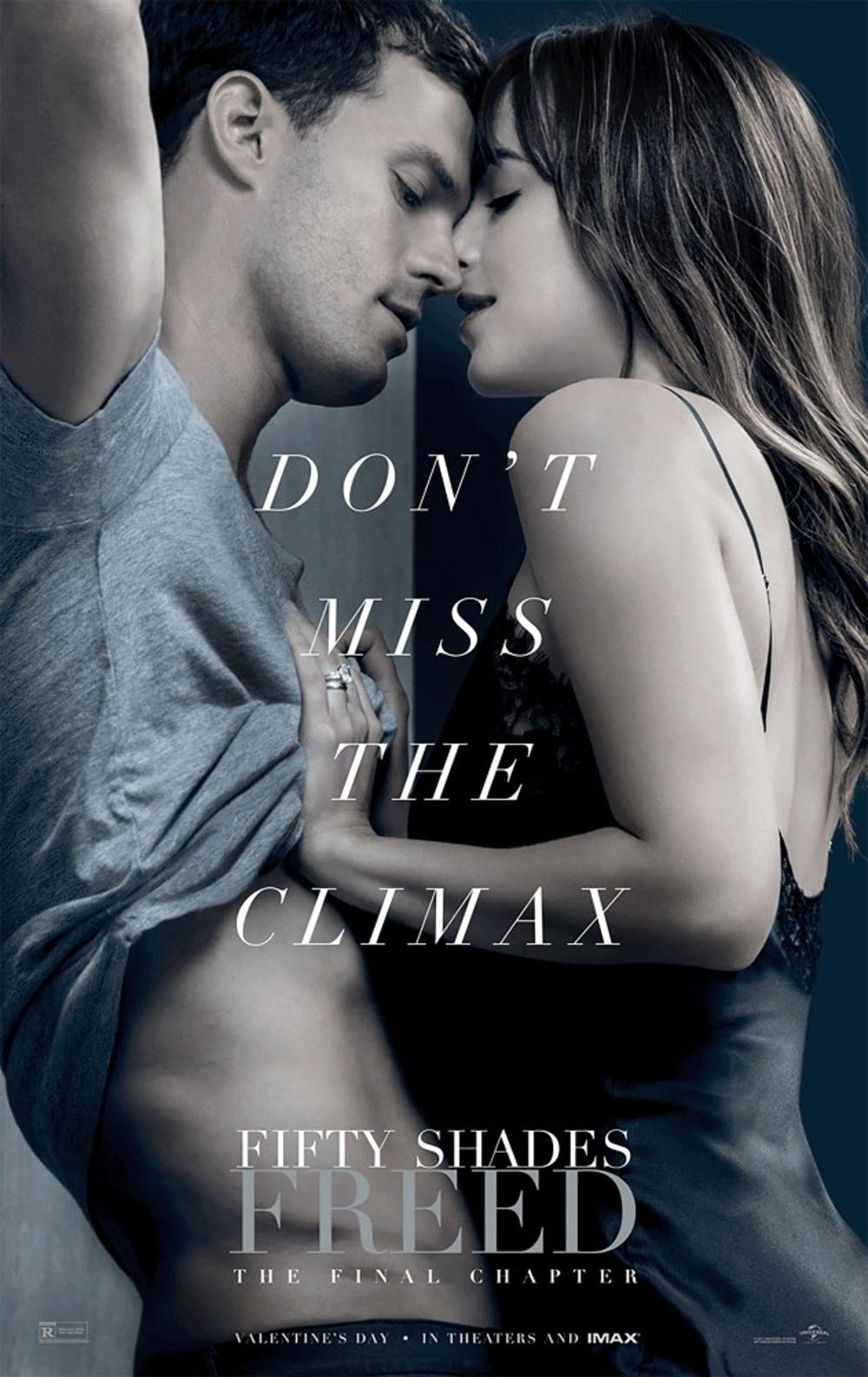 """<p>February is known as a """"dump month"""" in the film industry. The """"Fifty Shades"""" trilogy reaches its climax with the release of """"Fifty Shades Freed"""" on Feb. 9.</p>"""