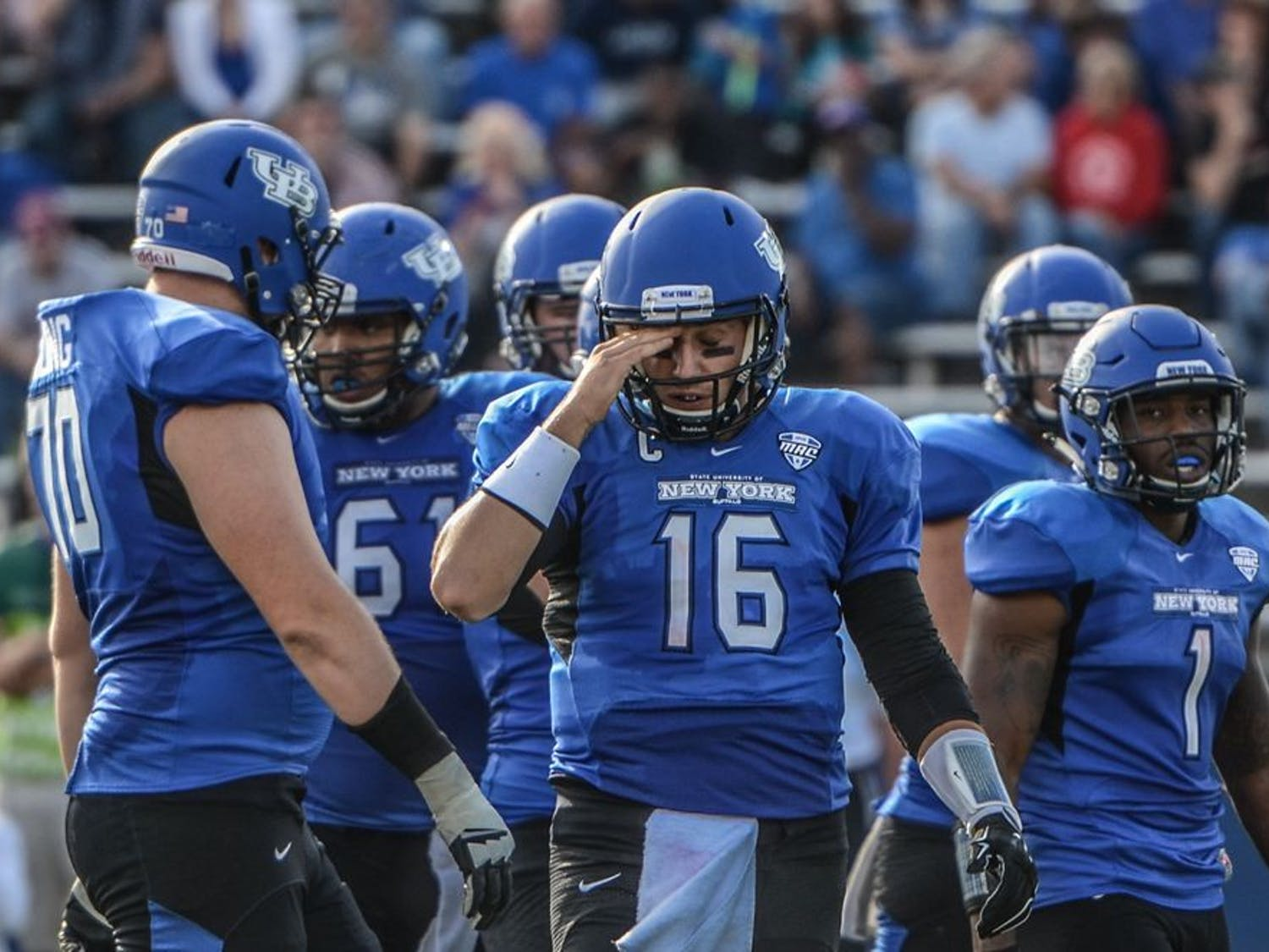 The football team (2-2) lost 24-21 to Nevada (2-2) at UB Stadium on Saturday. It was Buffalo's final game before Mid-American Conference play begins.
