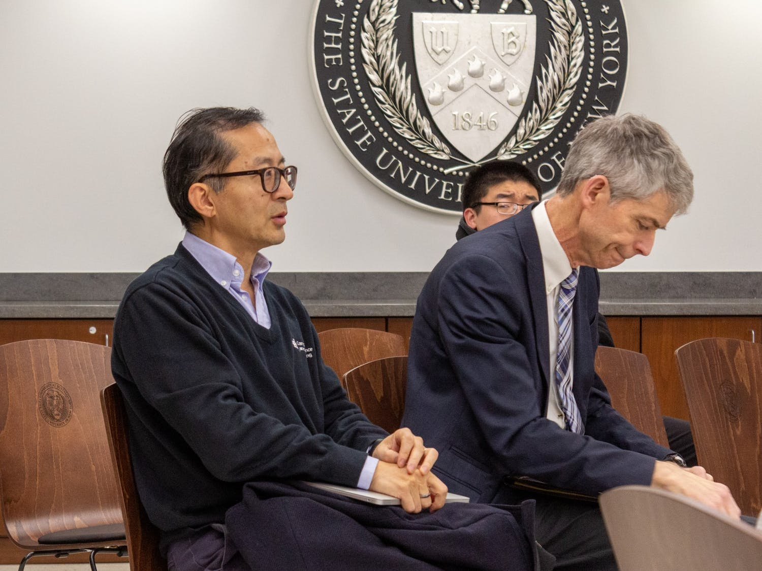 Computer Science and Engineering Department Chair Chunming Qiao provides his opinion on the search for the next engineering dean.