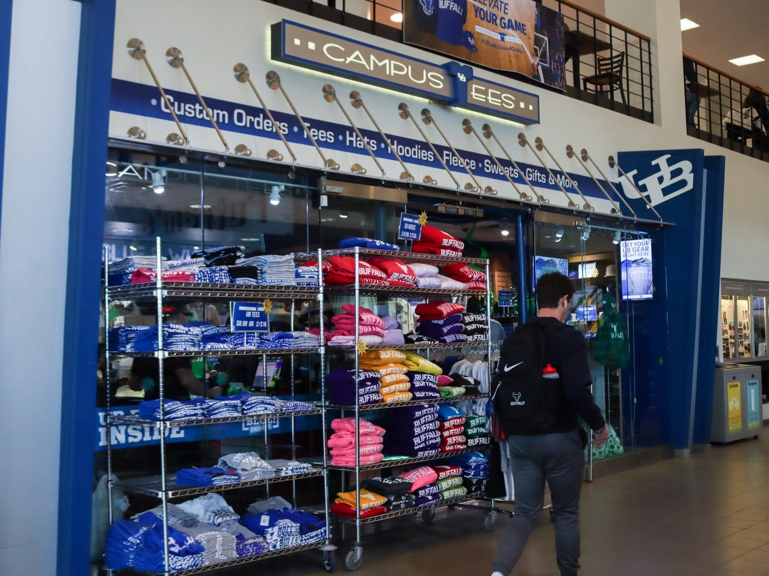 The Campus Tees store in the Student Union.