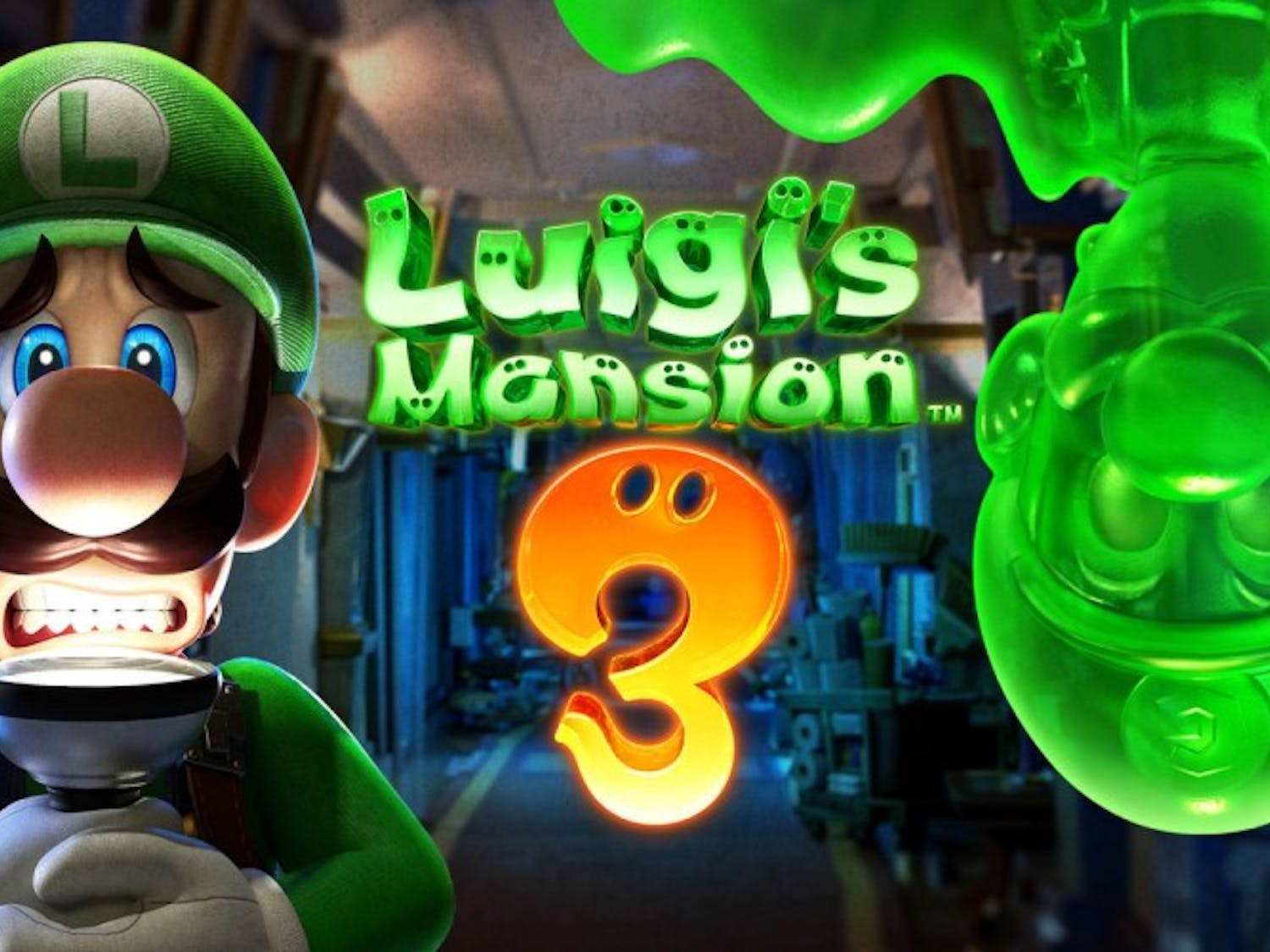 Poster for Luigi's Mansion 3.