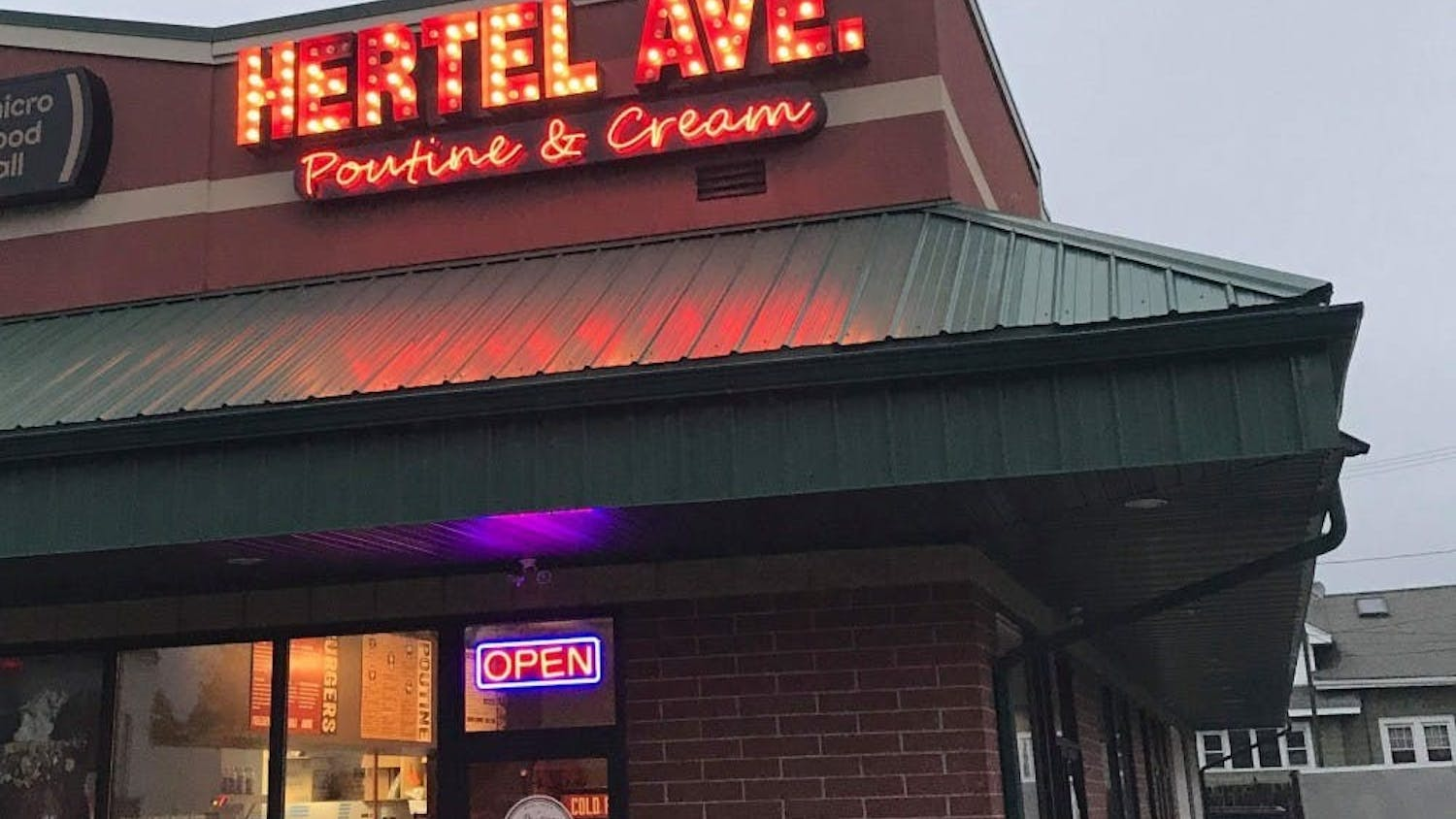 Students craving Canadian cuisine should visit Poutine and Cream, a popular spot on Hertel Avenue featuring poutine, cheese curds and french fries drenched in gravy.