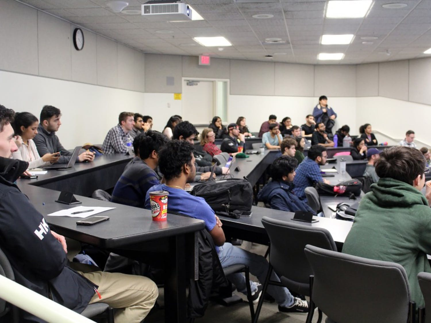 UB students forms new club on cryptocurrency and blockchain technology. Members discuss how cryptocurrency and blockchain technology looks to change the way the financial world runs.