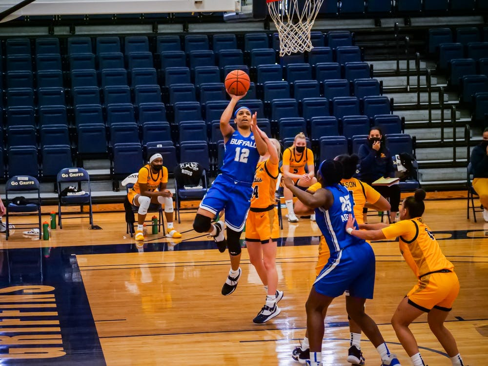 Freshman guard Cheyenne McEvans has averaged 11.0 points, 5.6 rebounds and 2.2 assists per game while shooting nearly 43% from the field this season.