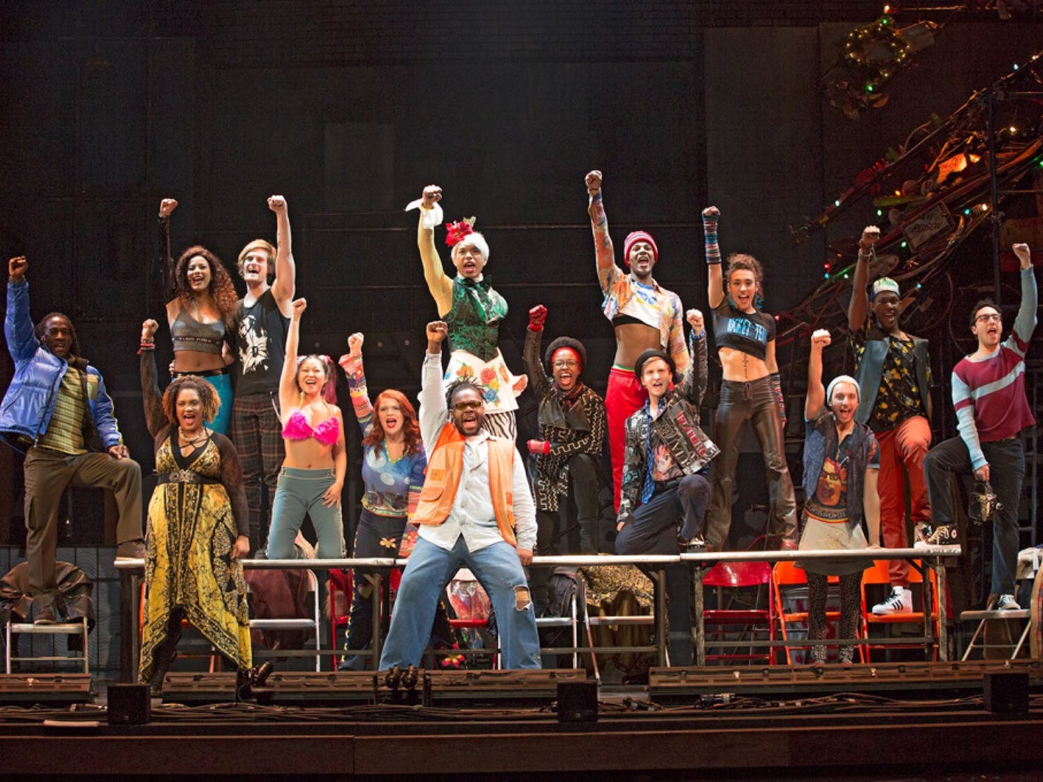 """""""Rent"""" retells the classic story of """"La Bohème,"""" and explores the lives of artists during the AIDs crisis in New York City."""