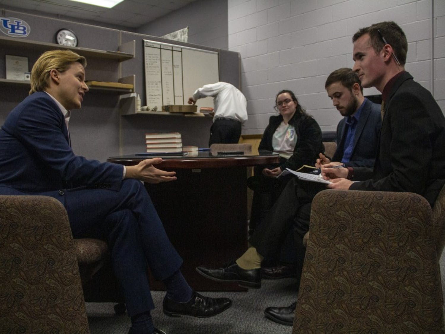 Spectrum editors sat down with Pulitzer Prize-winning journalist Ronan Farrow ahead of his Distinguished Speaker Lectures.