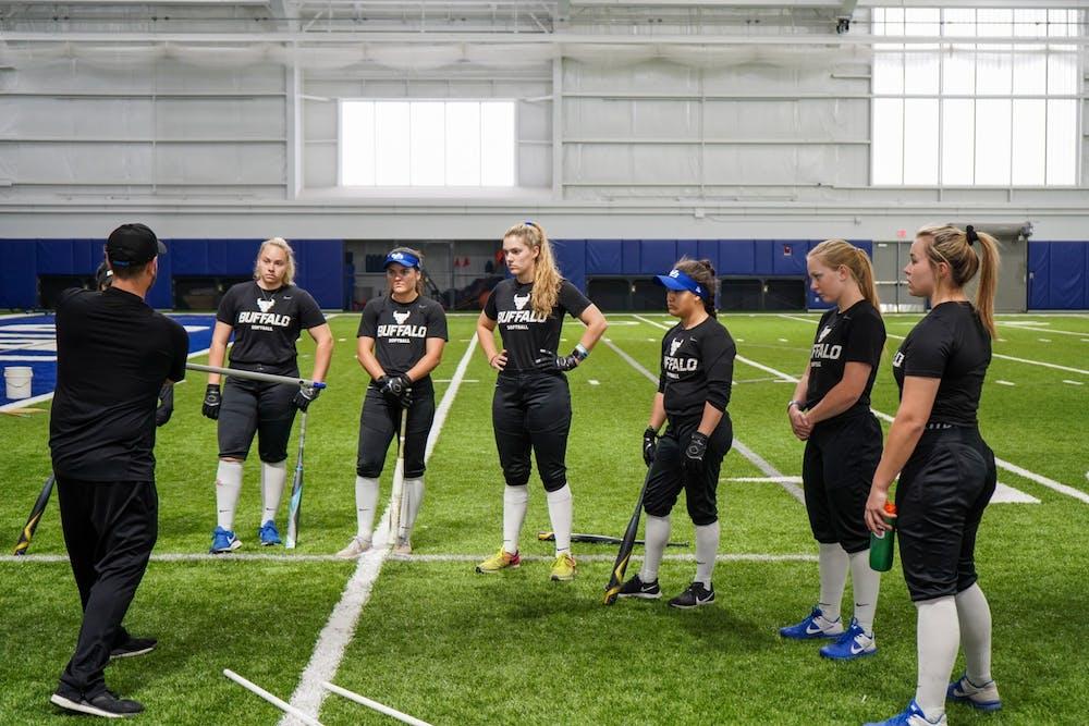 The UB softball team started the 2021 season with an 0-8 record.