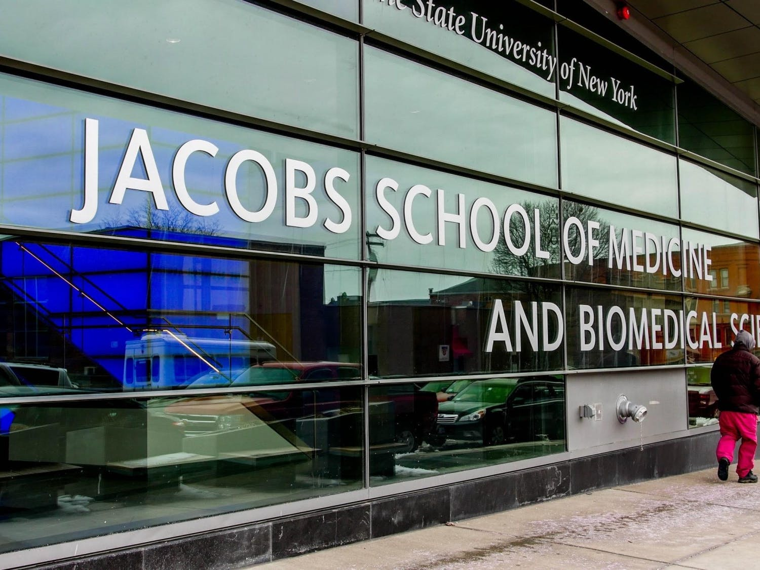 The Jacobs School, from The Spectrum archives.