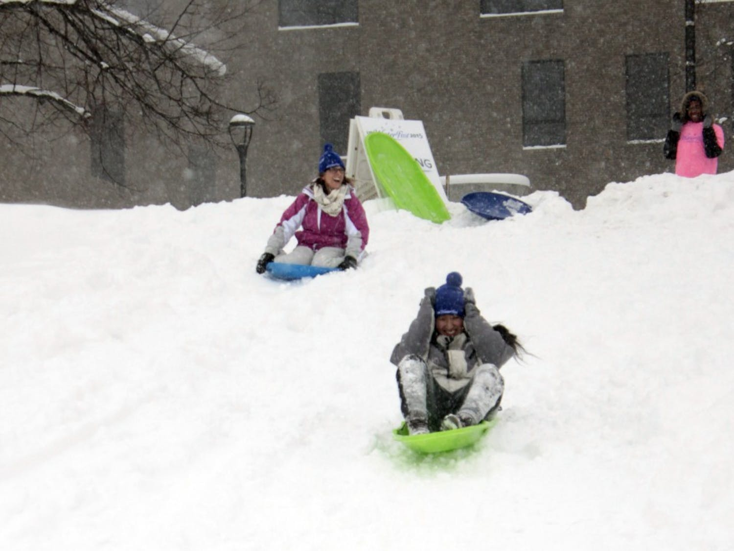 UB's annual Winterfest heats up North Campus with outdoor events