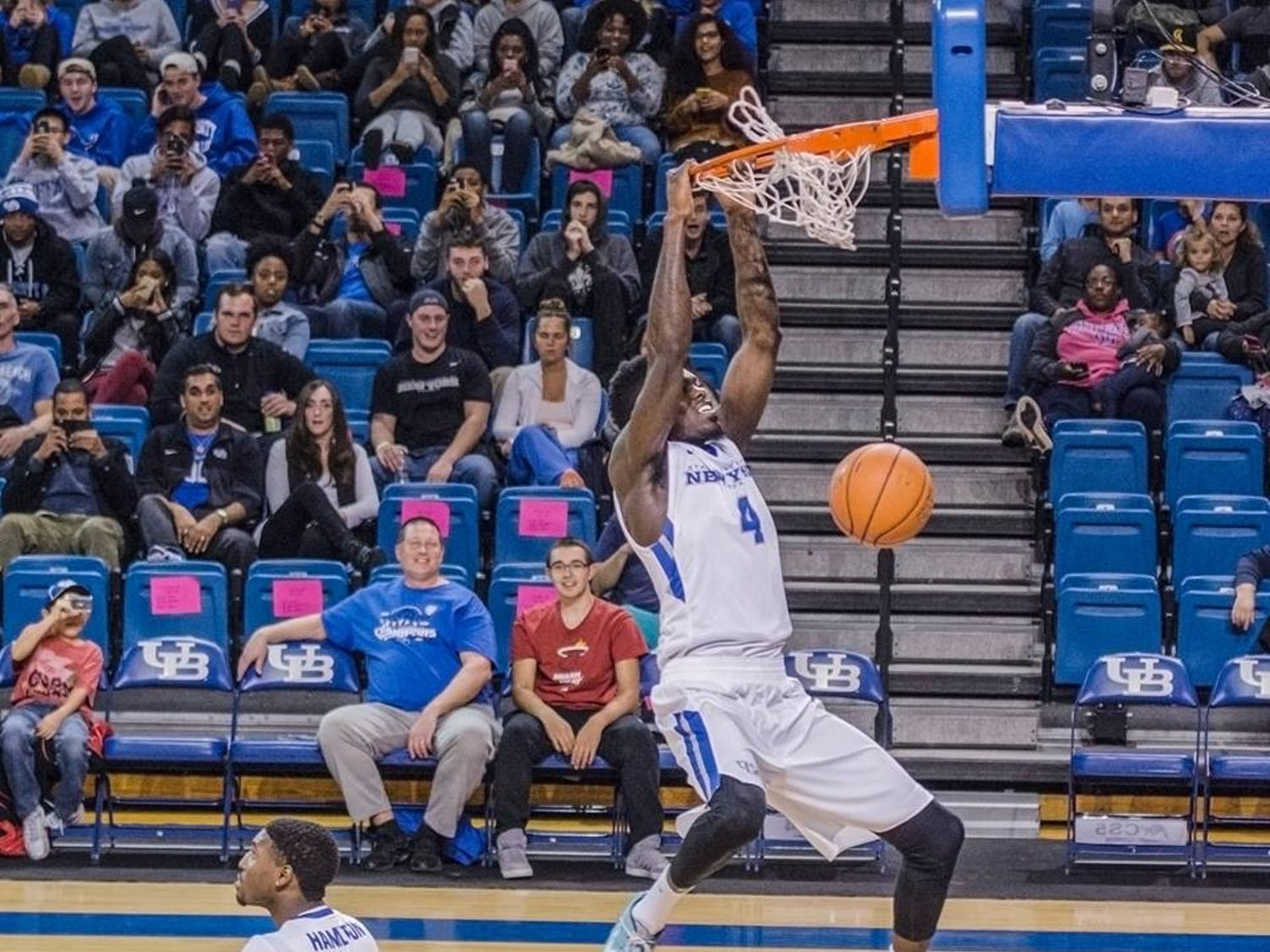 The men and women's basketball programs held their annual Bulls Madness pep rally in Alumni Arena Friday night. The night including player and coach introductions and slam-dunk and three-point contests.