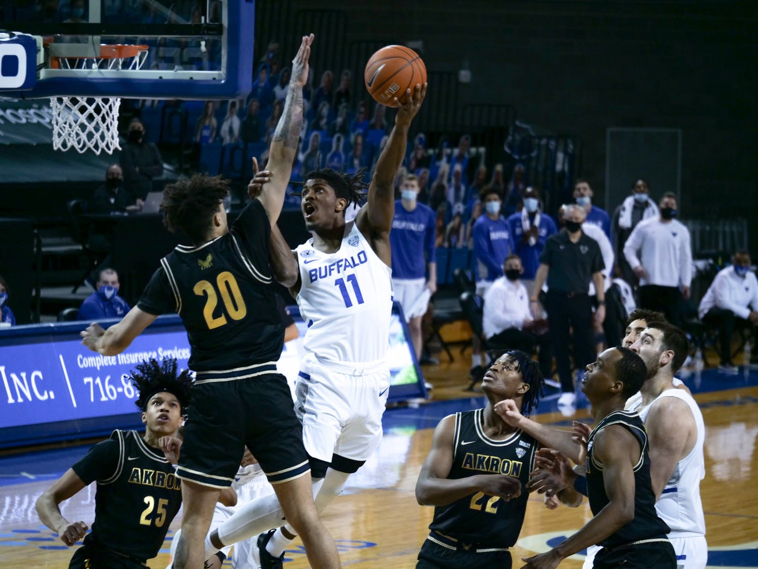 UB men's basketball fell to Colorado State in the first round of the National Invitational Tournament Saturday, effectively ending the Bulls' season.