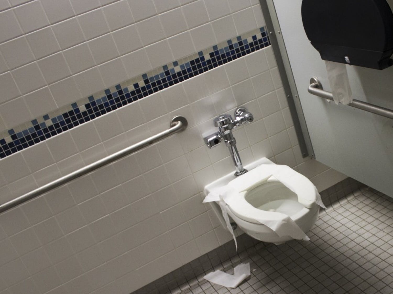 Men's bathrooms are notoriously gross, but The Spectrum sought out the worst of the worst. From urinals to stalls, these restrooms might just be the scariest things on campus this Halloween.