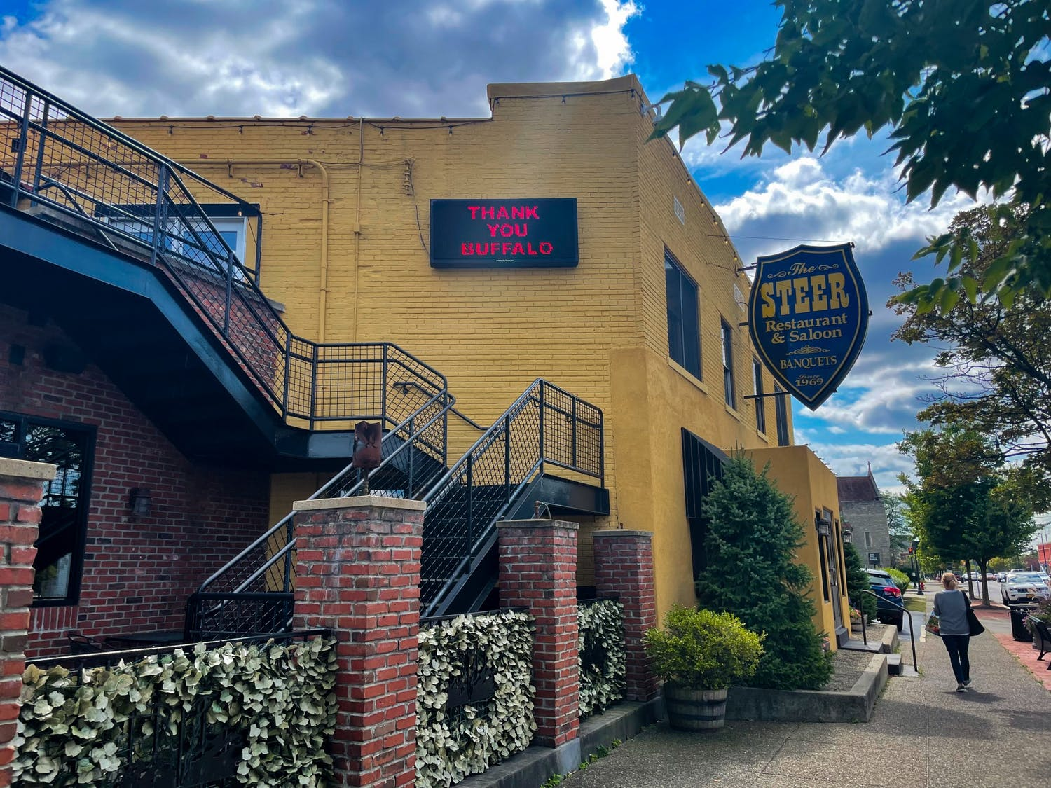 Located in the University Heights neighborhood, The Steer Restaurant & Saloon has long been a favorite of UB students.