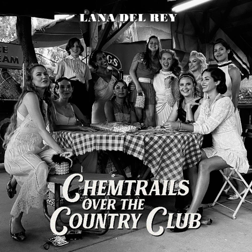 """""""Chemtrails Over The Country Club"""" is many things — a love letter to American music tradition, a reflection on Del Rey's fame and a profoundly intimate album largely inspired by Del Rey's """"stunning girlfriends"""" and """"beautiful siblings."""""""